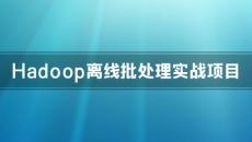 Hadoop离线批处理实战项目