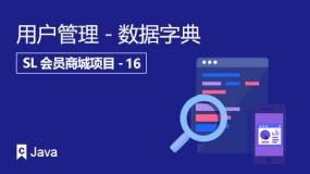 用户管理-数据字典
