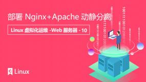 部署Nginx+Apache动静分离