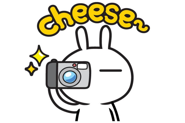 素材 生活用品  相机 照相机 镜头 卡通 兔斯基  素材类型:共享素材